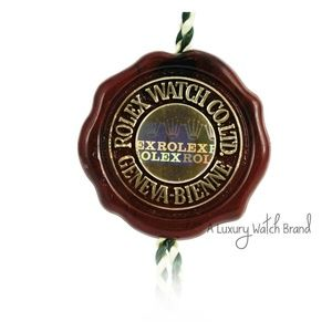 Original Vintage Rolex Swiss Chronometer hang Tag